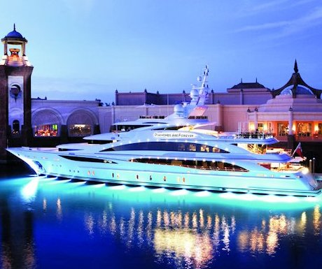 Diamonds Are Forever – The Ultimate 007 Mega Yacht!
