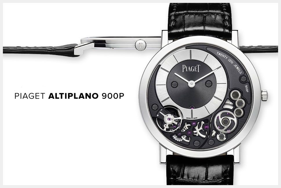 Piaget Altiplano  38mm 900P: The World's Thinnest Timepiece