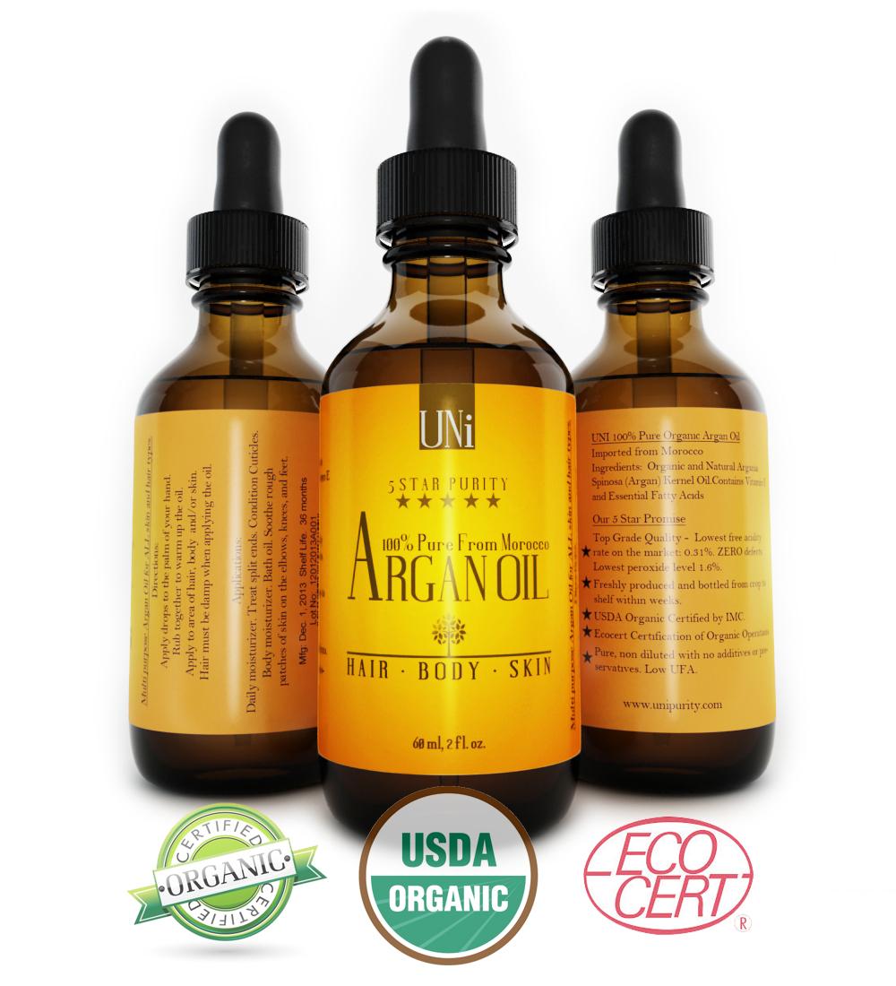Morocco Argan Oil Benefits For Hair,Body,Skin!