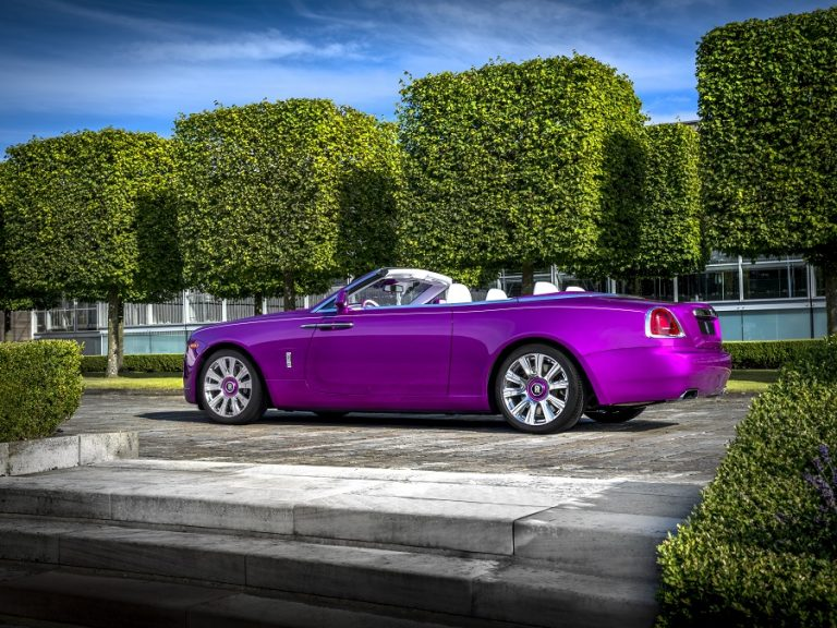 Rolls-Royce 'Dawn in Fuxia' For Michael Fux