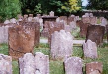 Public Domain Image: Graveyard In England